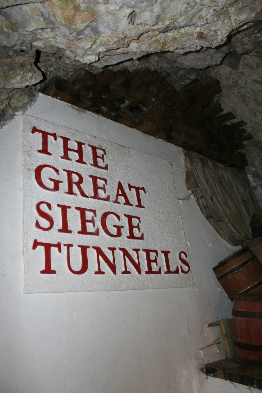 The entrance to the Siege Tunnels.