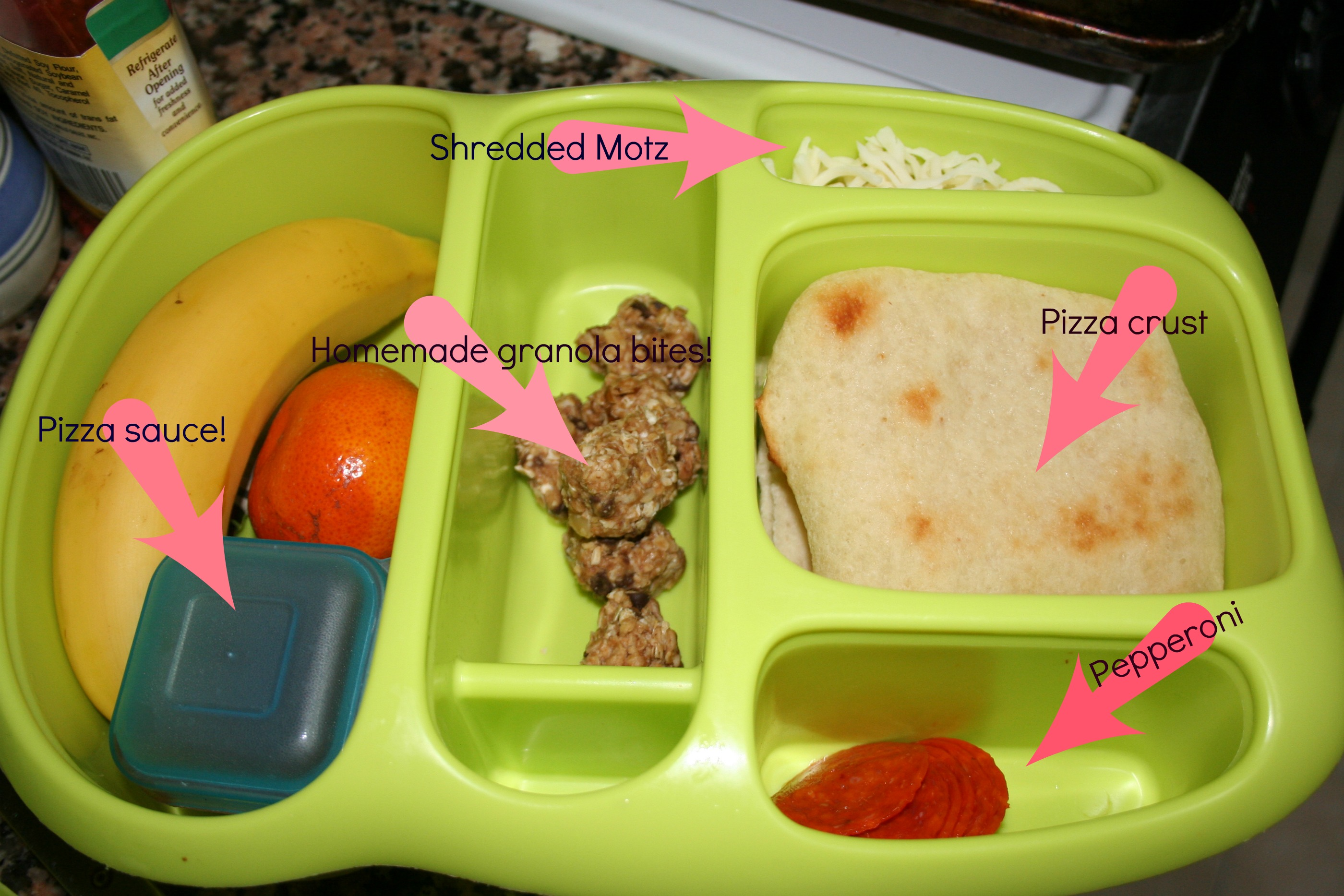 Homemade Pizza Lunchables Sink Or Swim