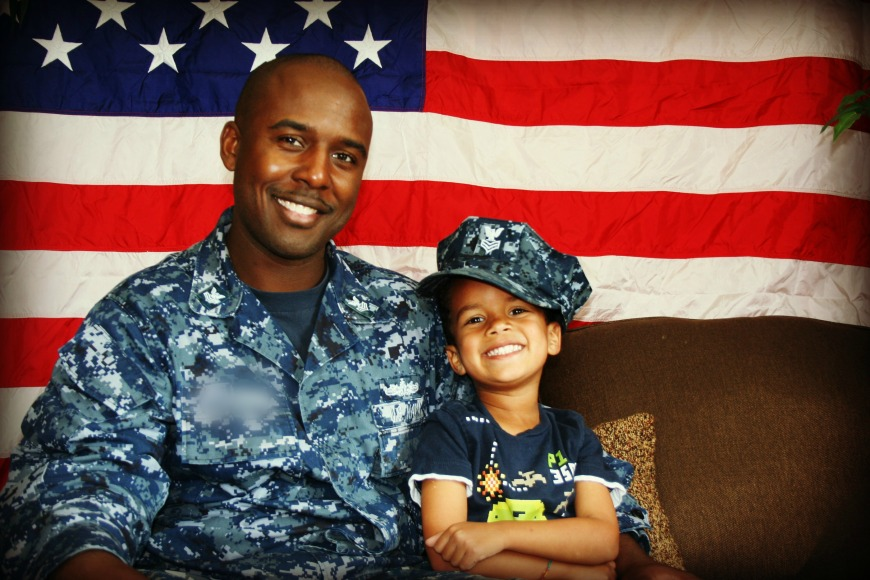 Celebrating the Month of the Military Child!